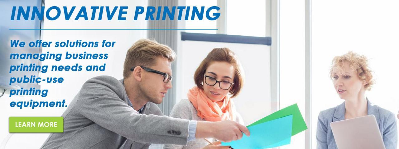 Innovative Printing